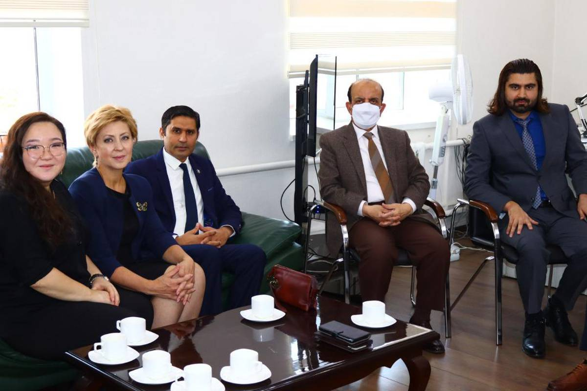 A productive meeting held at Embassy of Pakistan
